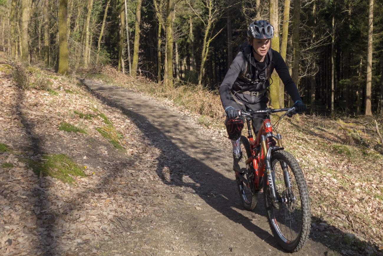Juliet Elliott Cyclist Mountain Bike Forest Of Dean-1