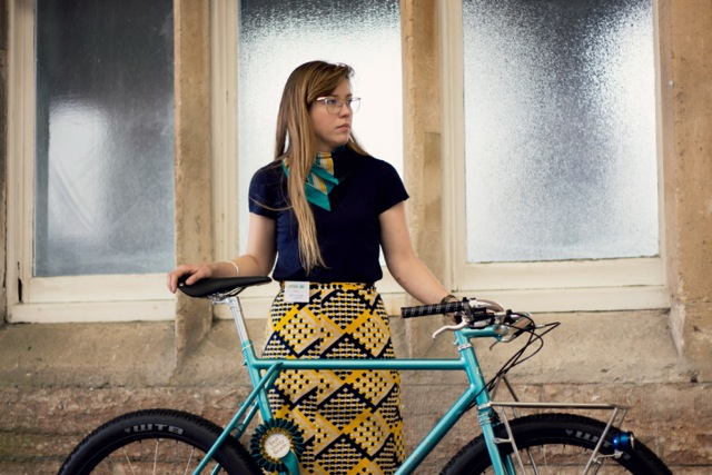 IHartley Cycles Portrait, Caren Hartley female frame builder 2