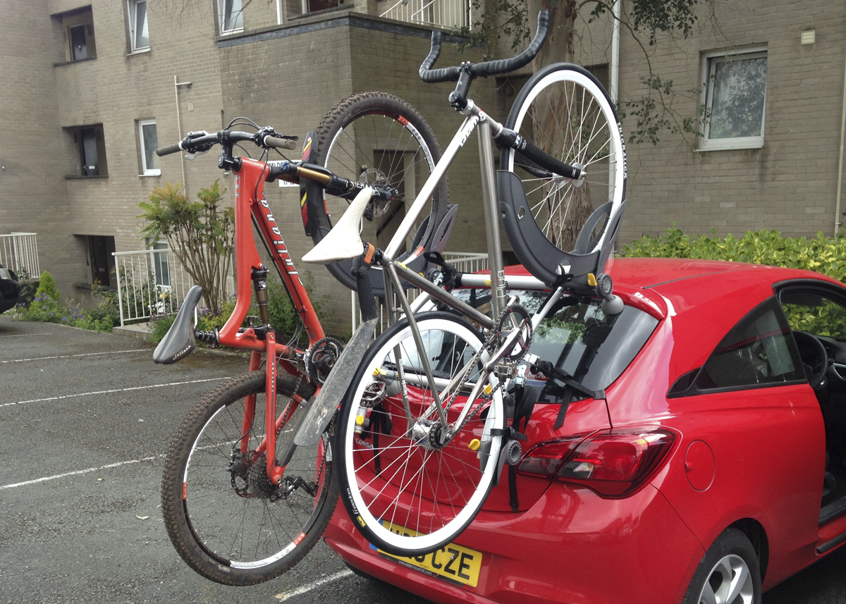 Review Saris Gran Fondo Bike Rack Bikes N Stuff