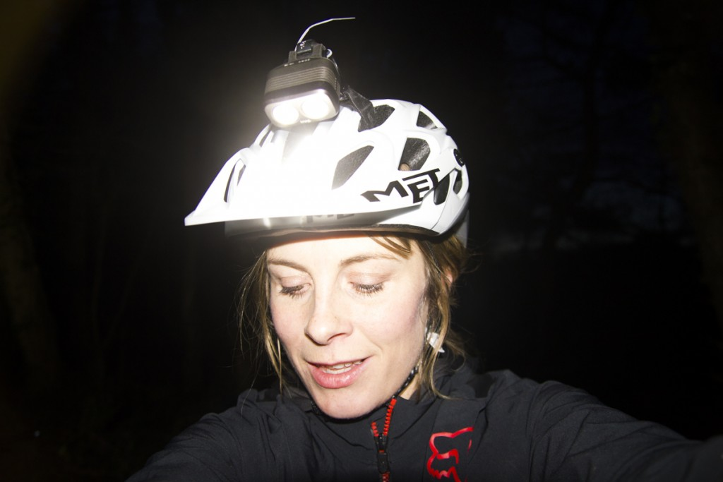 juliet elliott night riding mtb light UGOE review ashton court-11