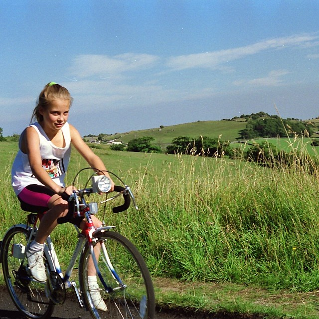 little me on a bike